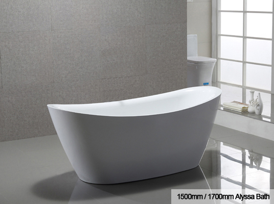 Alyssa freestanding bath