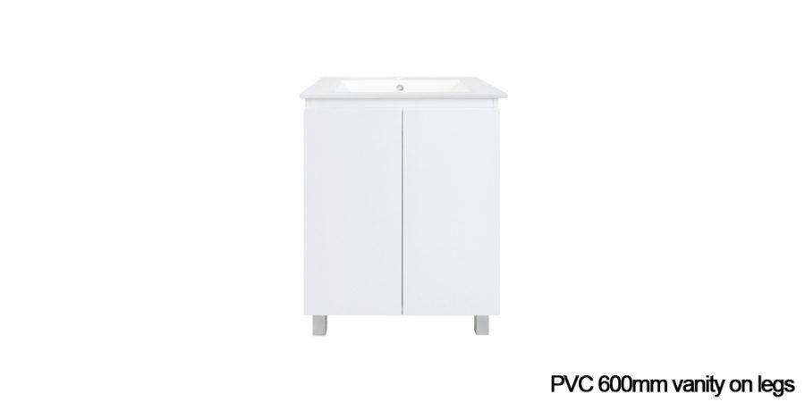 PVC vanity