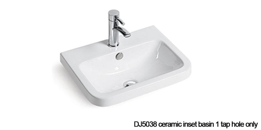 DJ5038 Inset basin