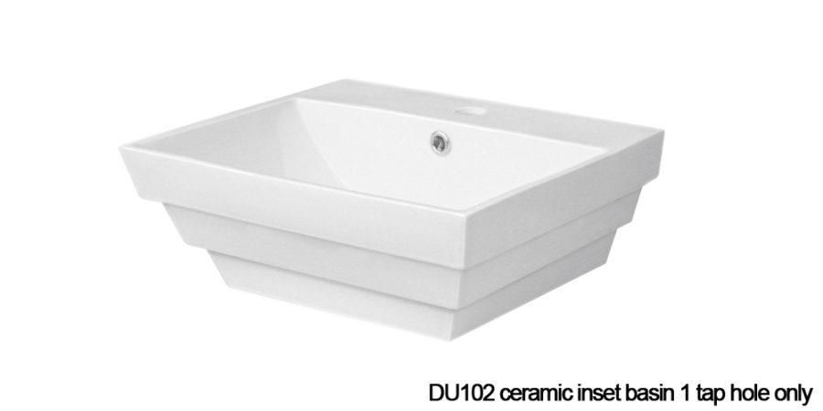 DU102 inset basin