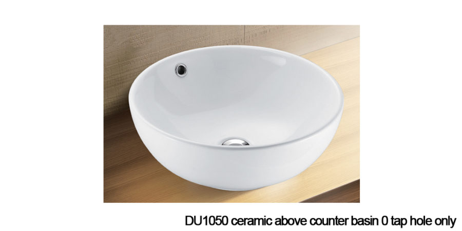 DU1050 above counter basin