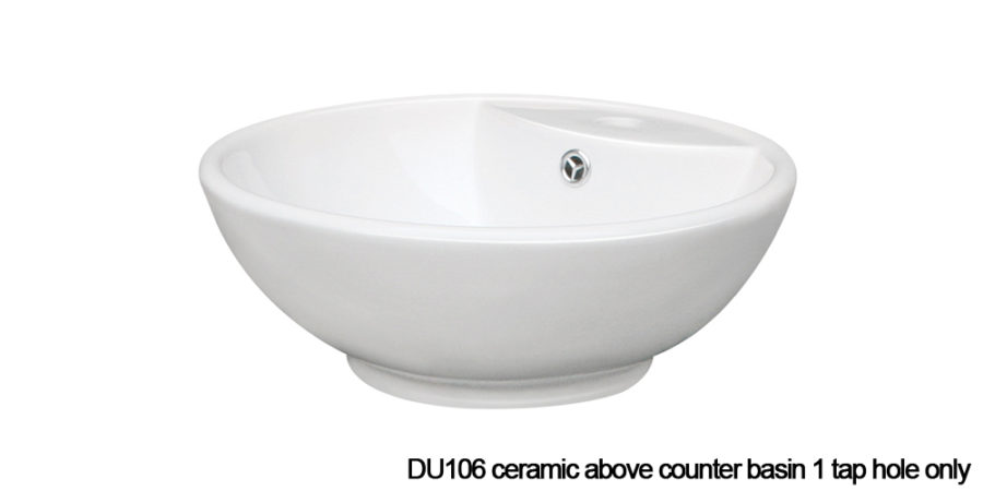 DU106 above counter basin