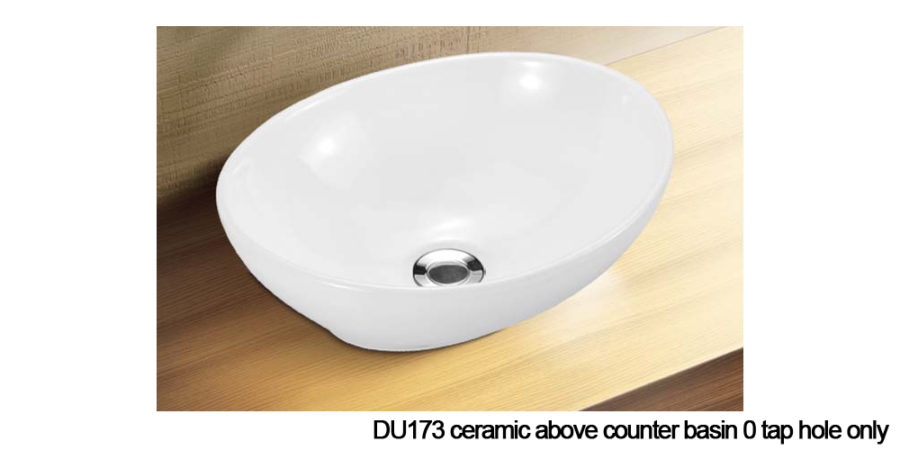 DU173 above counter basin