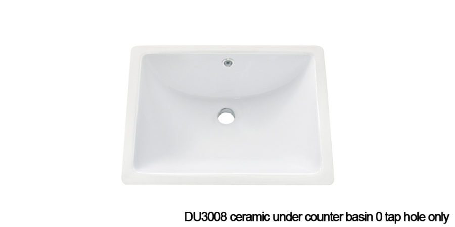 DU3008 under counter basin