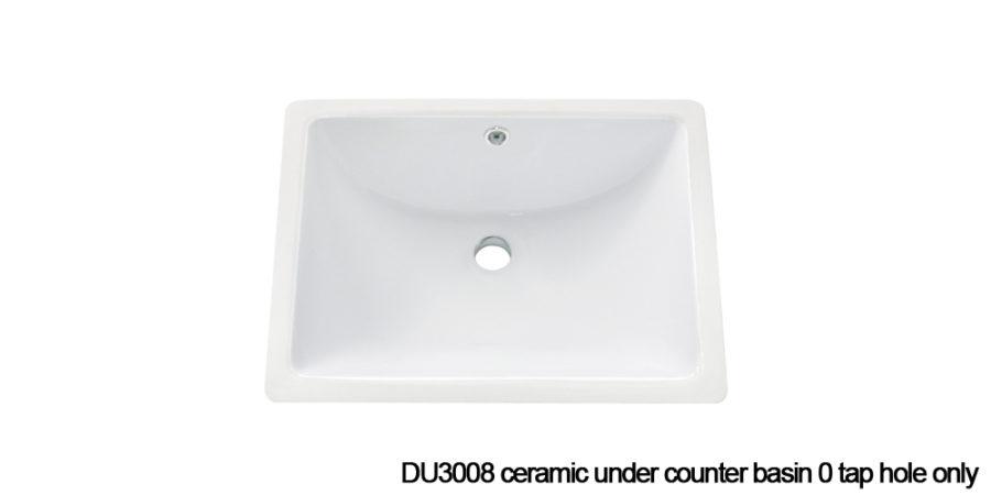 DU3008 under counter basin