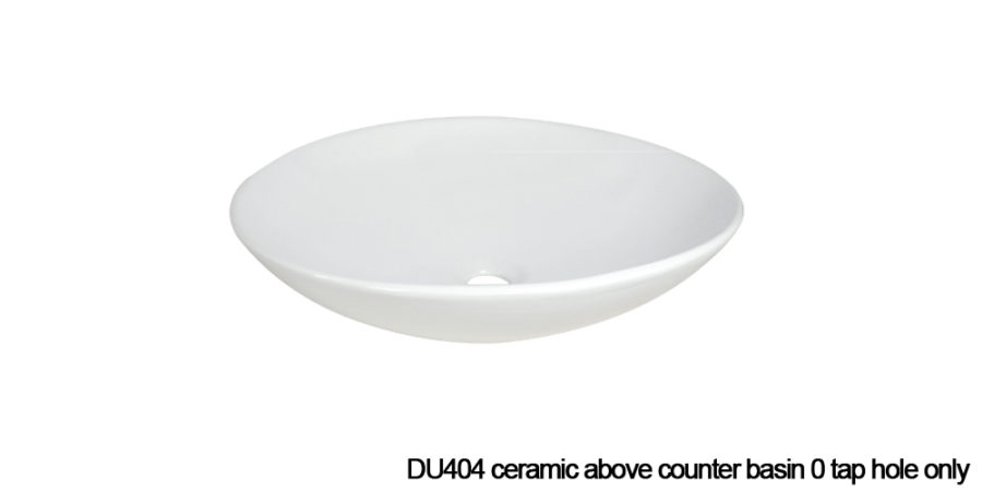 DU404 above counter basin