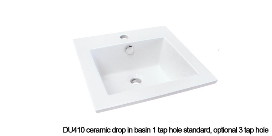 DU410 drop in basin