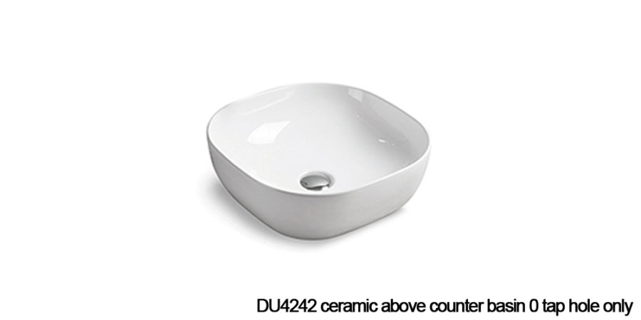 DU4242 above counter basin