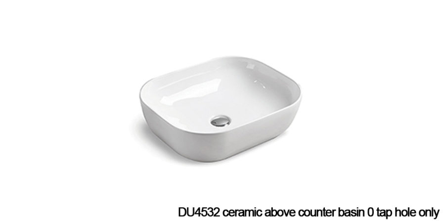 DU4532 above counter basin