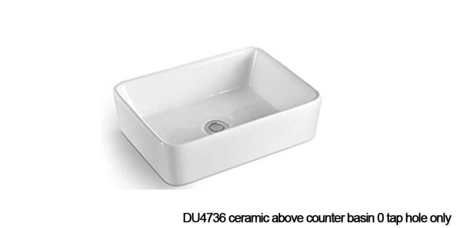 DU4736 above counter basin
