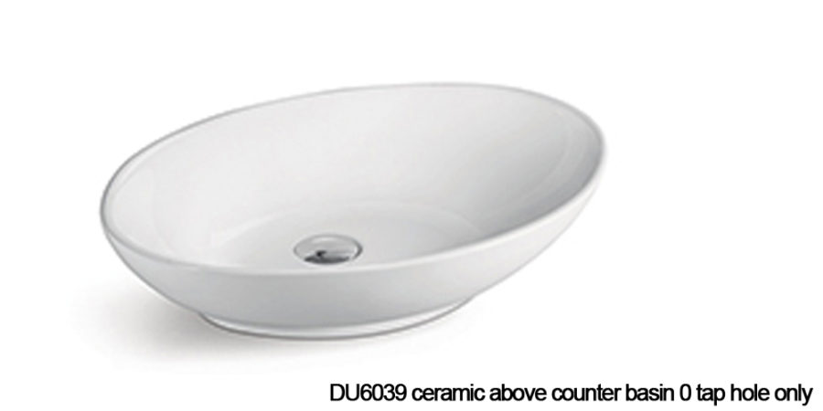DU6039 above counter basin