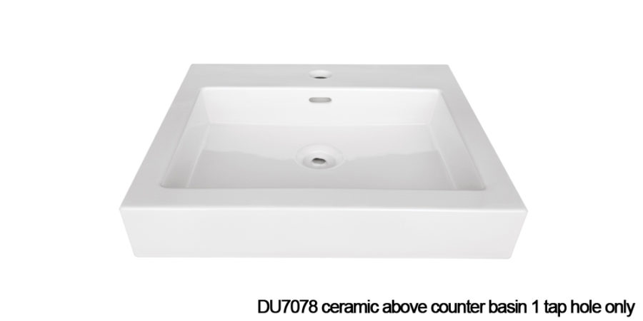 DU7078 above counter basin