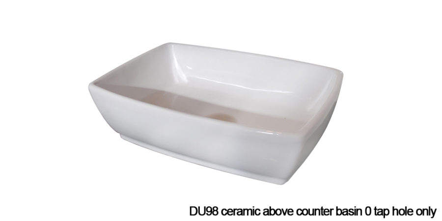 DU98 above counter basin