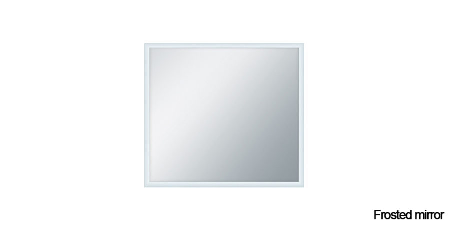 Frosted mirror