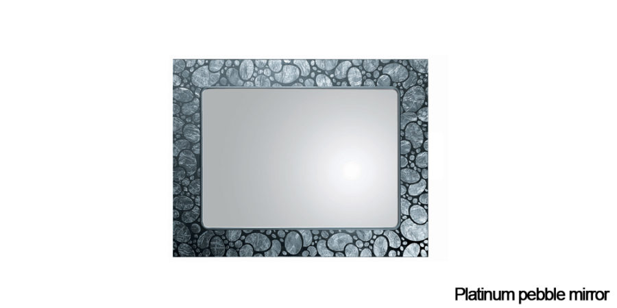 Platinum pebble mirror