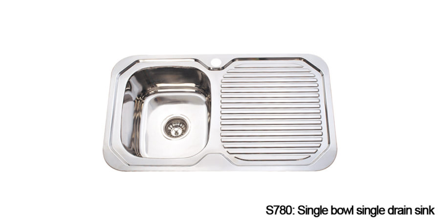 Standard kitchen sinks