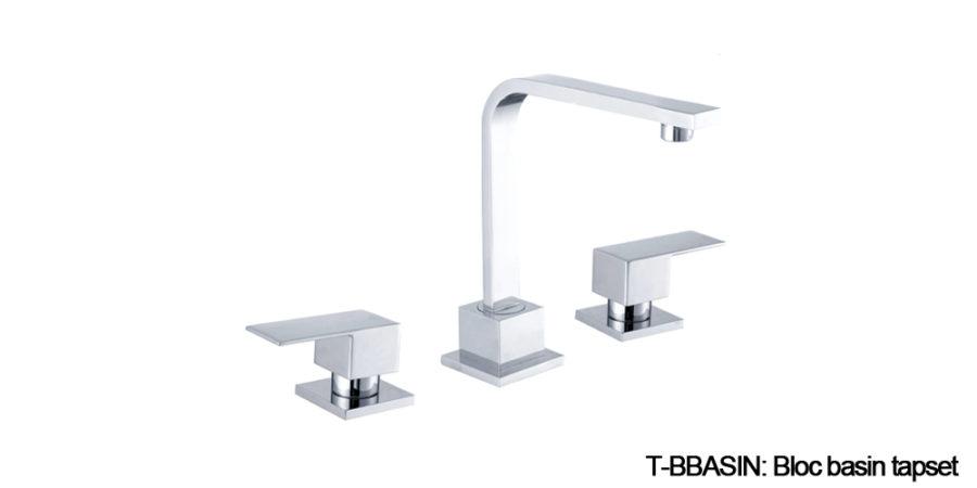 Bloc tapware