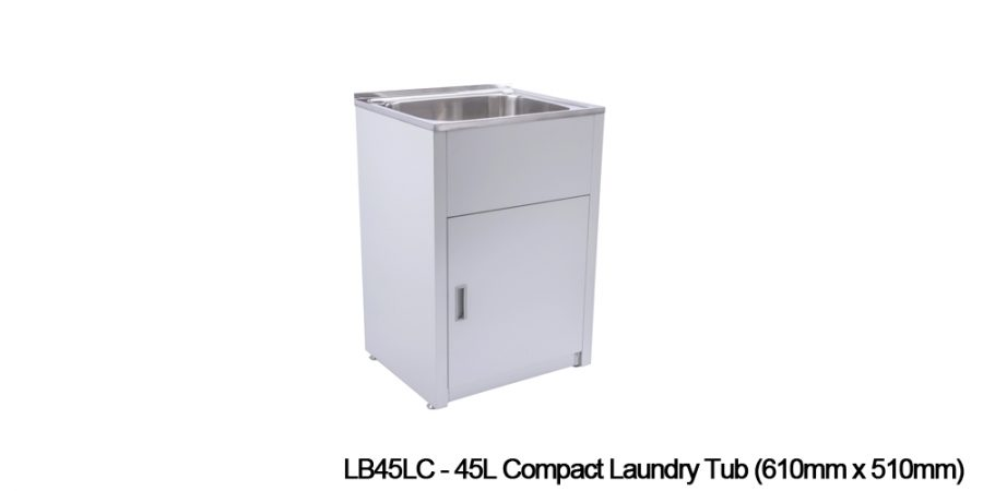 Metal laundry tubs