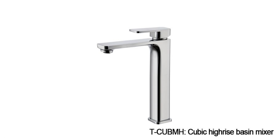 Cubic mixers chrome