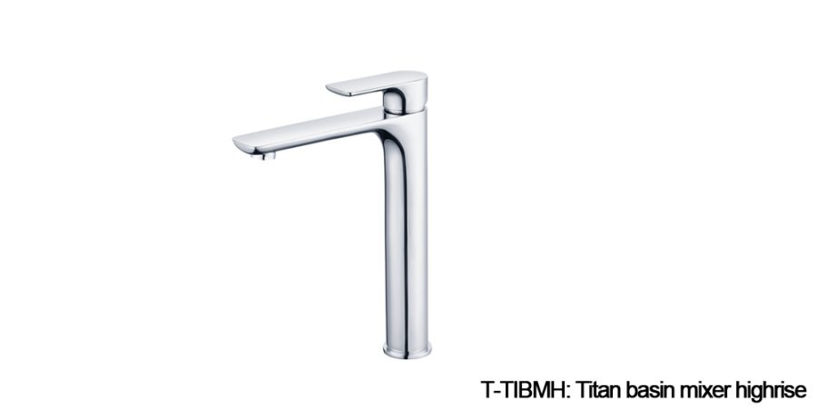 Titan mixers chrome