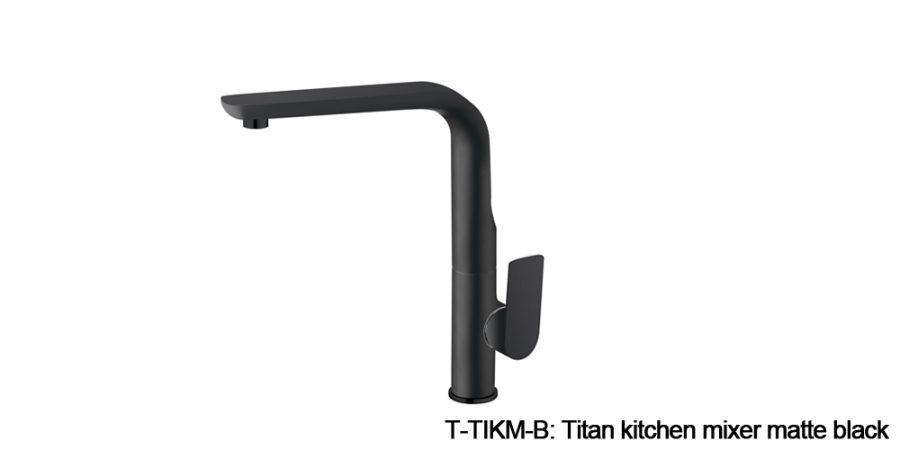 Titan mixers matte black