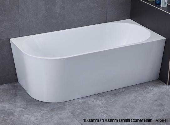 Dimitri corner bath